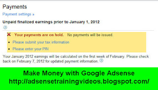 Google Adsense me Tax information ke liye contracting entity ko search kaise kare?