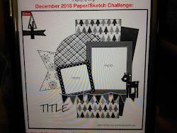 November  Paper/Sketch Challenge