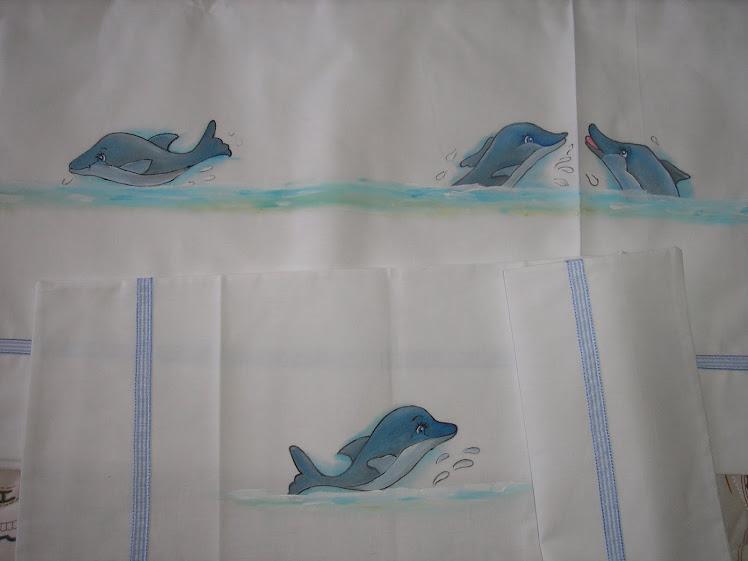 Lençois cama de solteiro pintados