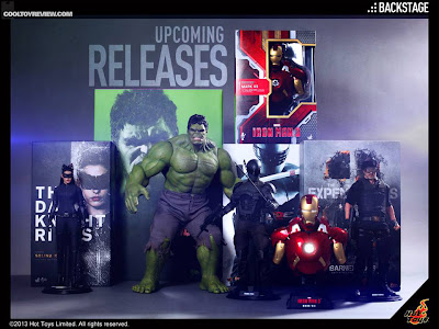 Hot Toys Upcoming Releases for June/July/Aug