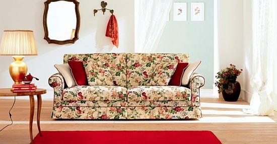 Modern Sofa Colourful Printed Fabric Designs