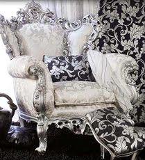 Design e moda nello stile barocco for Poltrone barocche