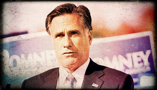 Mitt Romney looking sad