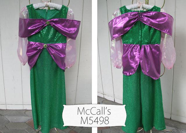 April Sprinkles: Mermaid Princess Dress