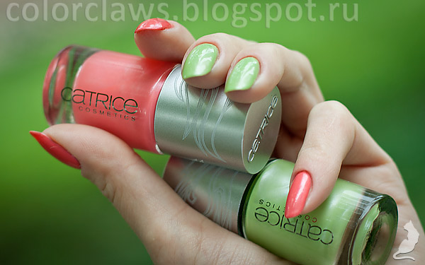 Catrice Green Days + Wheels on Fire