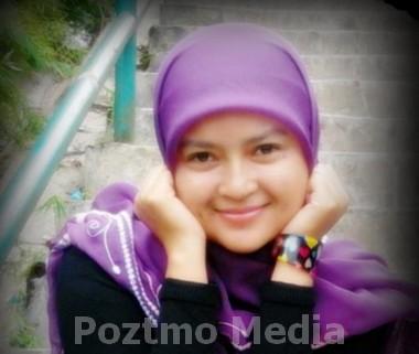 cara menggunakan jilbab modern - pashmina - Hana Tajima