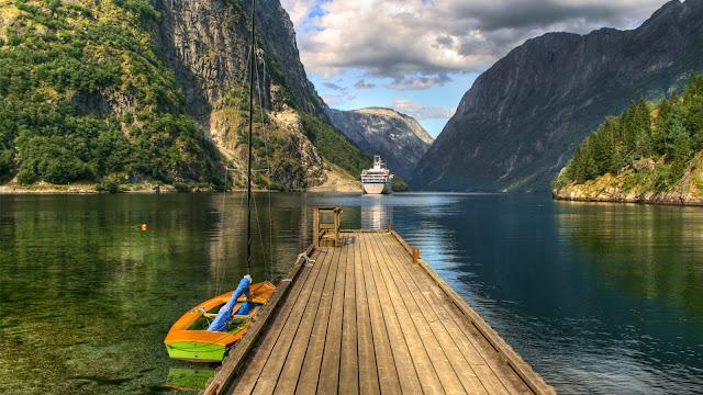 Paisajes Naturales de Noruega