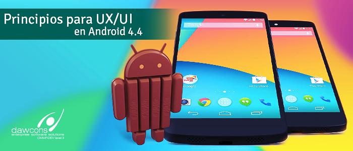 Principios para UX/UI en Android 4.4
