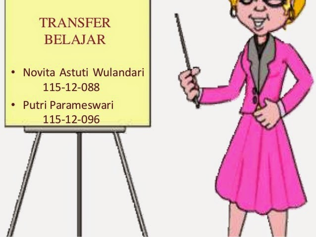 MAKALAH ALIRAN PSIKOLOGI BELAJAR DAN TRANSFER BELAJAR