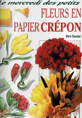 Цветы из креповой - крепированной бумаги