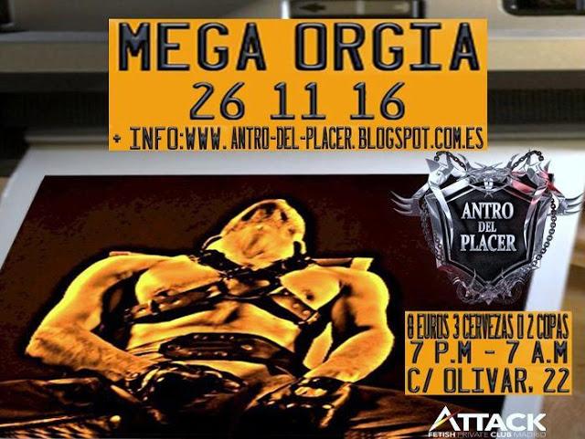 XII Mega Orgía