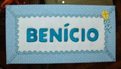Placa de maternidade Benício