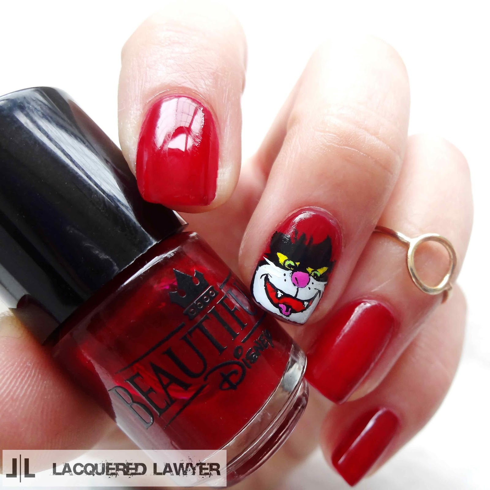 Lucifer Cinderella Nails