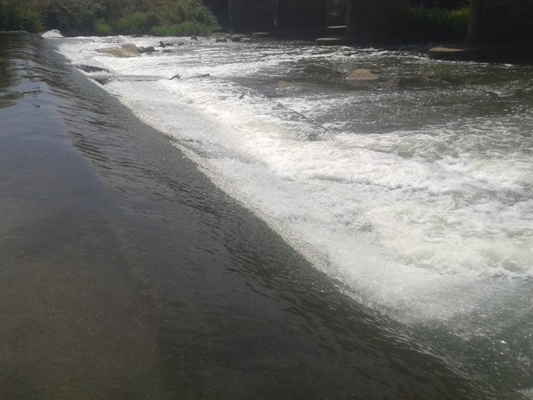 Zona de massagem de água