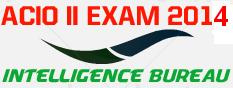 Intelligence Bureau(IB) ACIO -II Exam 2014