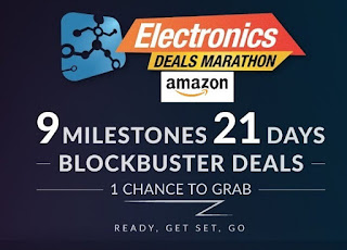 Lowest Price ever : Amazon Electronics Deals Marathon ( 7th to 27th September)