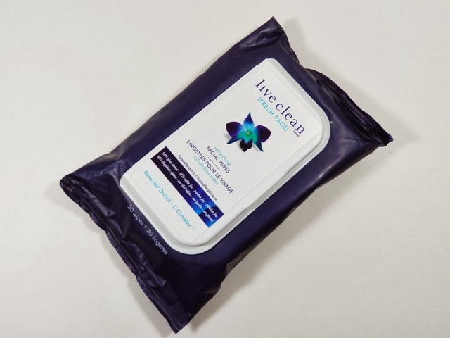 Live Clean Facial Wipes