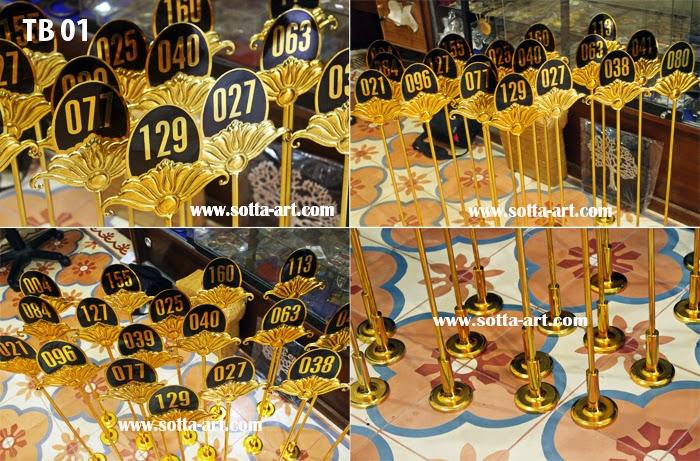 table number,nomor kamar, nomor hotel,pesan nomor