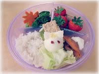 almuerzo estilo bento box