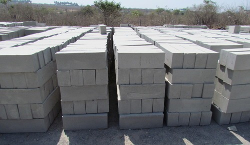 K block for Cement foam blocks