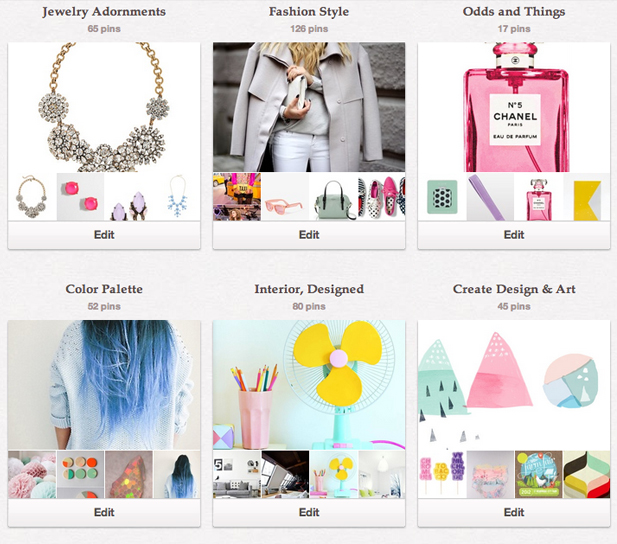 Pinterest Boards by Crop and Prim