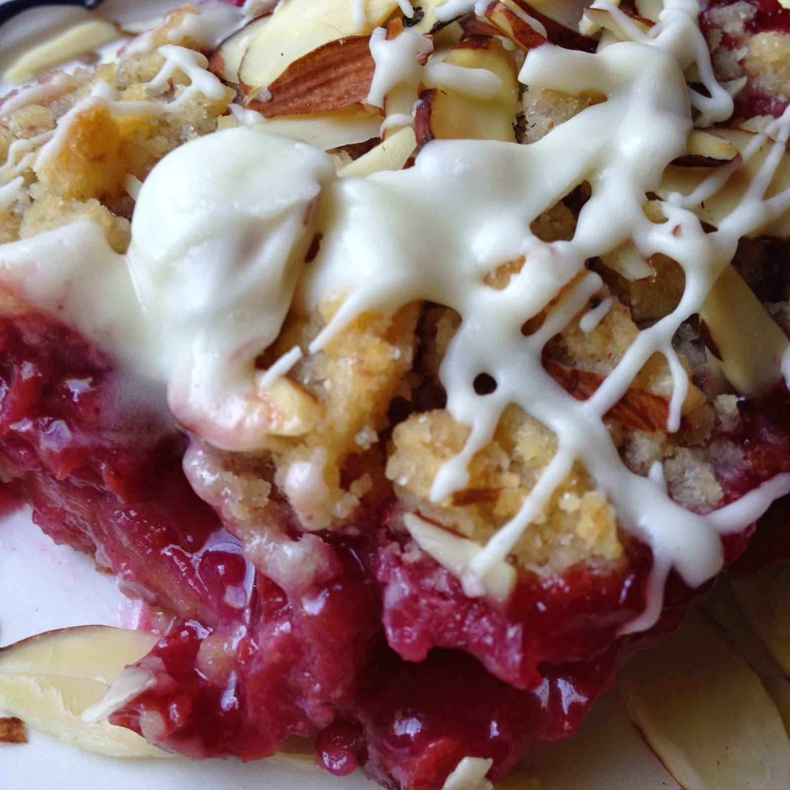 Turnips 2 Tangerines: Cherry Crumble Bars