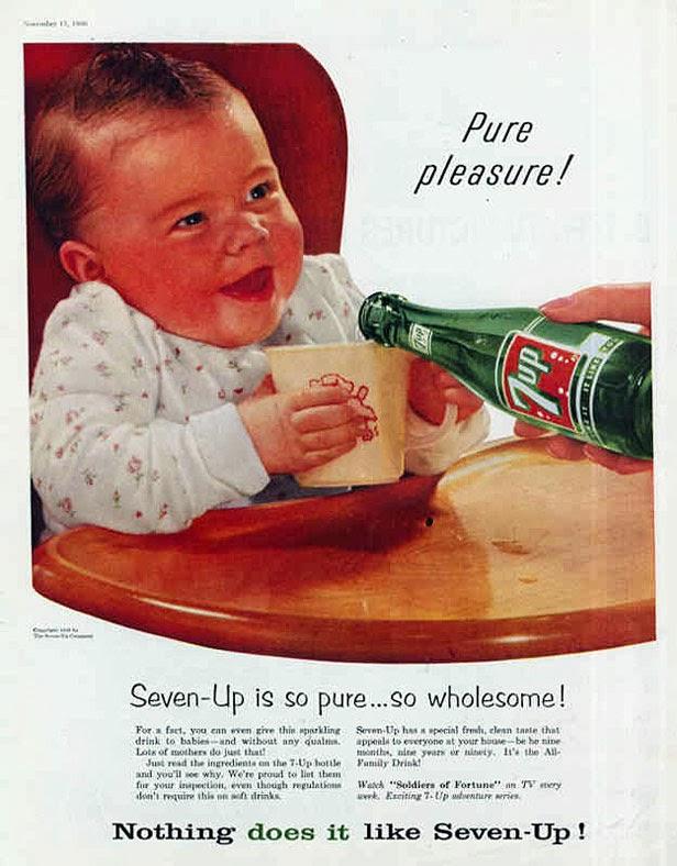 Baby Drinking Soda Meme