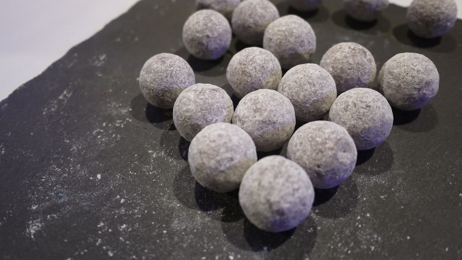 Hotel Chocolat truffles at the Yelp 10th birthday party