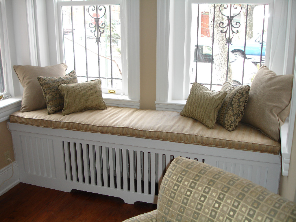 Bench Radiator Cover Window