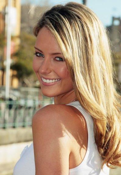Australian Beauty Queen and Model Jennifer Hawkins