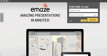 Crea presentaciones HTML5 con Emaze