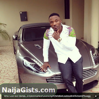 iyanya new aston martin vantage car n30 million