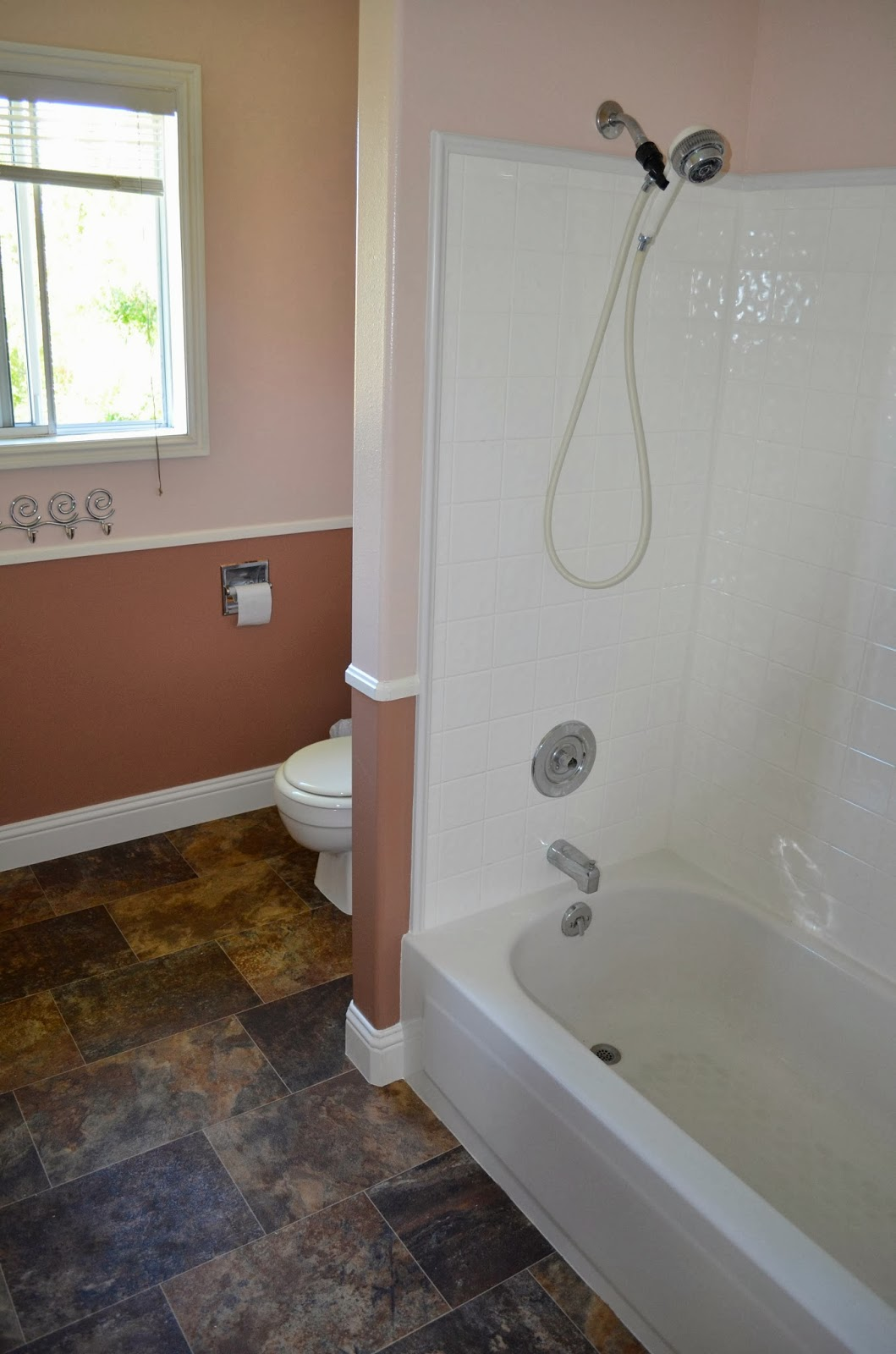 Painting Bathroom Tile Board one thing leads to another - mostly diy bathroom repair and