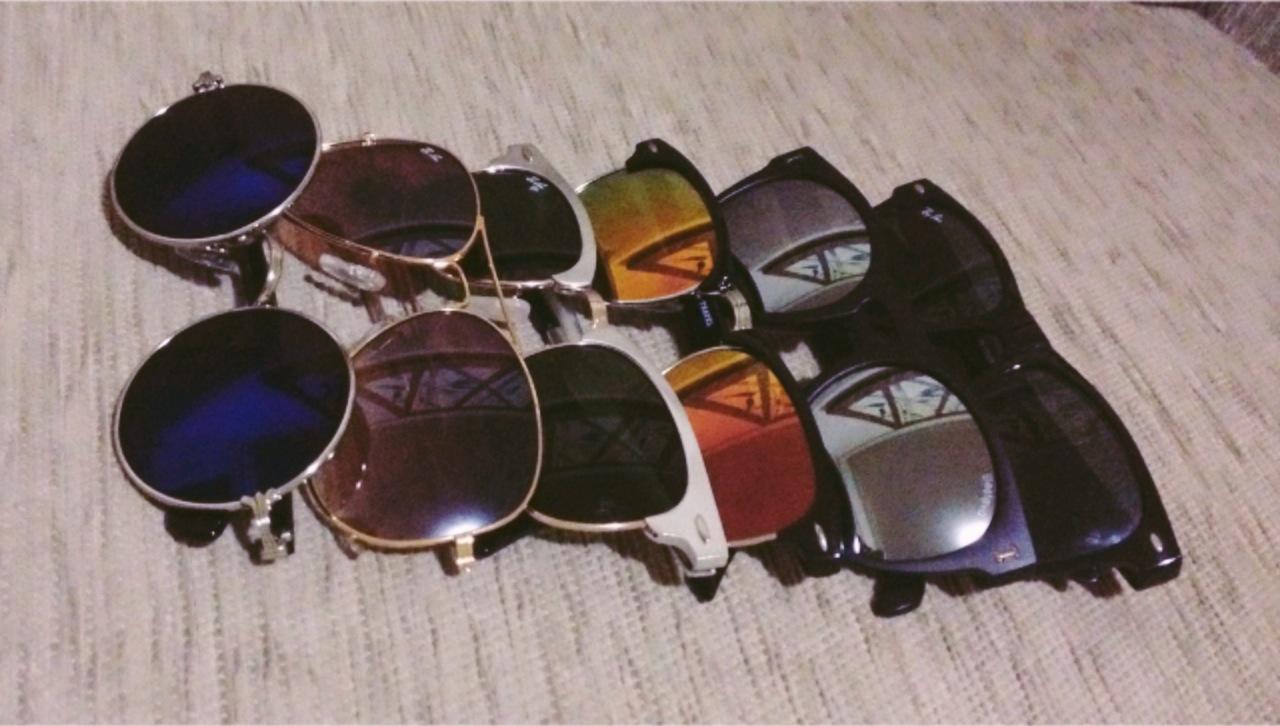 4526961e49138 Ah, falando nisso...  Coleção de óculos de sol!