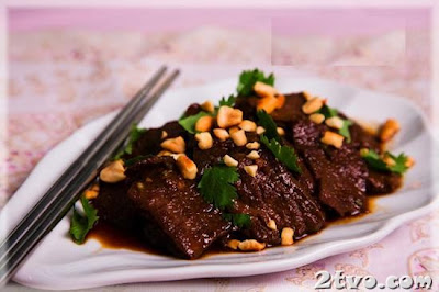 thịt bò xào nước cốt dừa