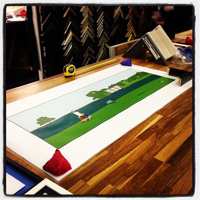 Dready, Dready Art and Everything Dready dready+cotswolds+at+the+framers
