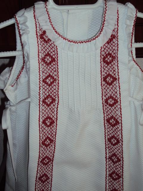 Vestidos de punto ingles