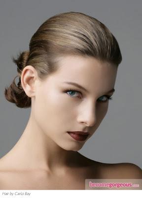 peinados sencillos y recogidos para el pelo largo