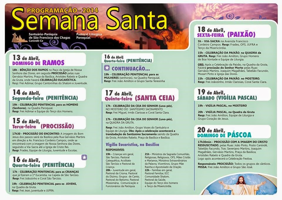 SEMANA SANTA EM CANINDÉ  2014