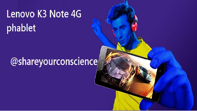 K3 Note smartphone