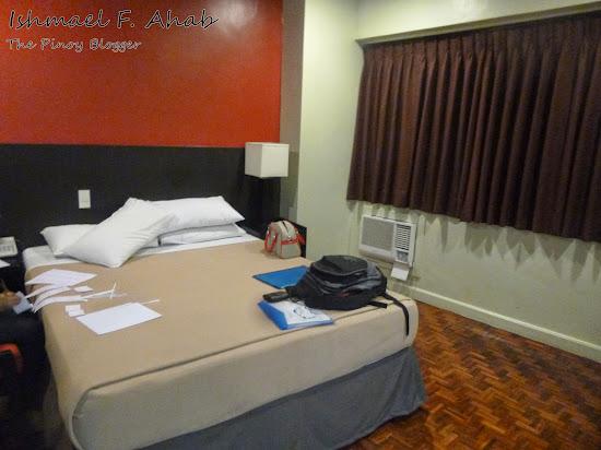 Our bedroom in Copacabana Apartment Hotel