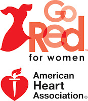 American Hearth Association Go Red for Women logo