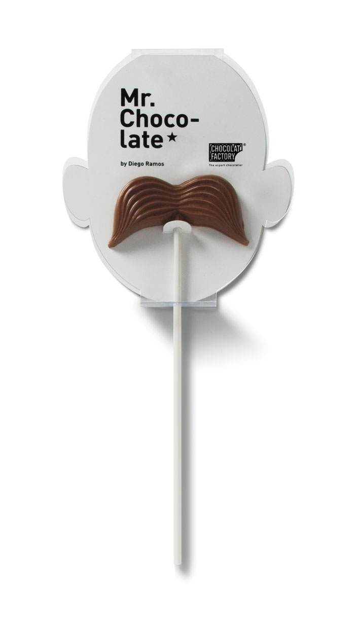 Caramel Chocolate Moustaches