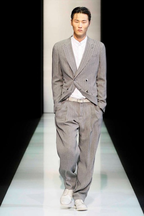 Giorgio Armani S/S 2013 Men's Fashion Photo-4