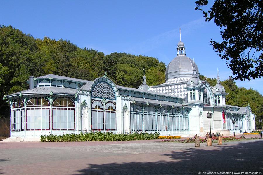 Пушкинская галерея в Железноводском парке