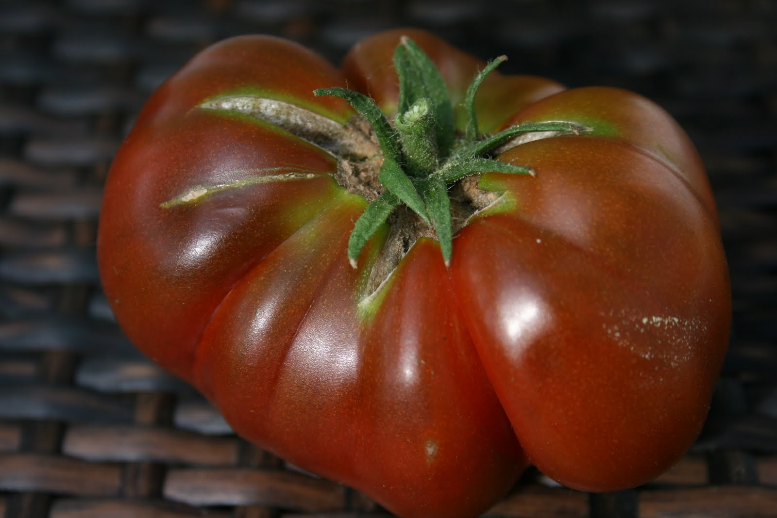 how to tell when green zebra tomatoes are ripe