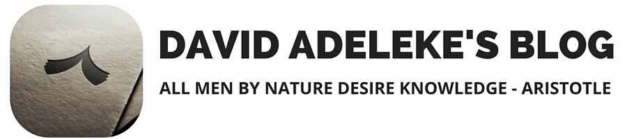 David Adeleke's Blog
