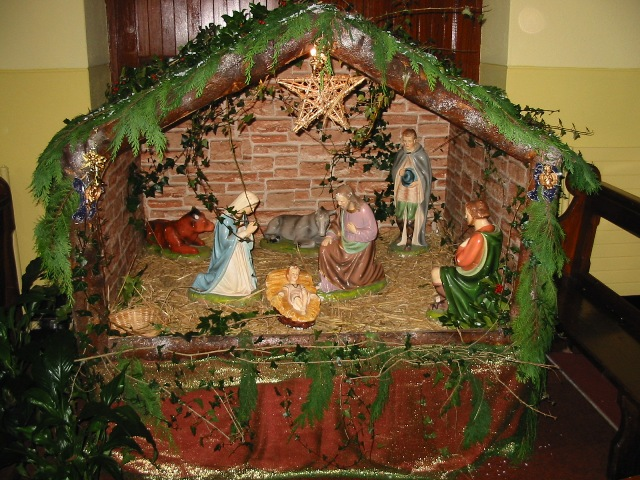 Christmas Cribs Decoration Pictures