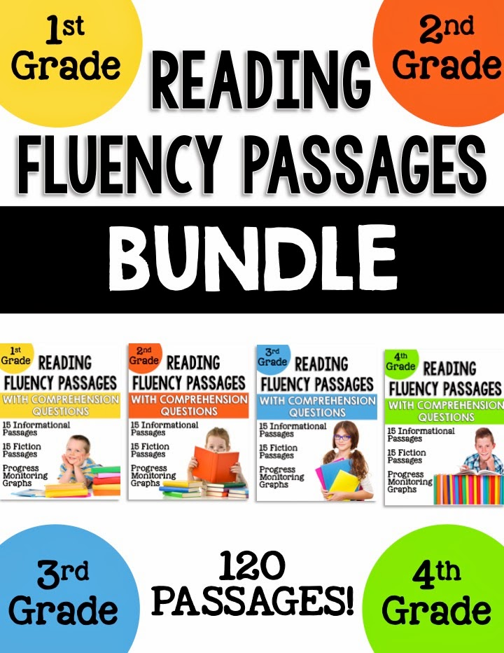 1st, 2nd, 3rd, and 4th Grade Reading Fluency Passages - Learning Lab ...
