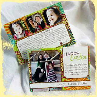 custom easter card